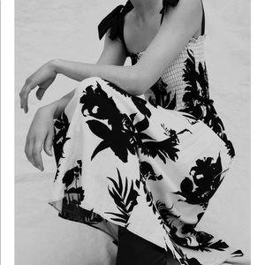 Zara Print Dress with Bows